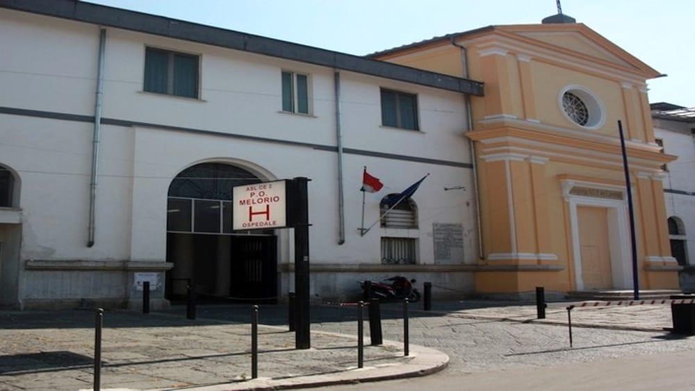 Il 'Melorio' diventa Covid Hospital: sospesi i ricoveri 'ordinari'